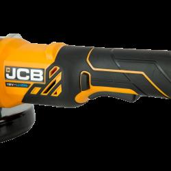 JCB - 18AG АКУМУЛАТОРЕН ЪГЛОШЛАЙФ 115 mm, 18V, без батерия и зарядно
