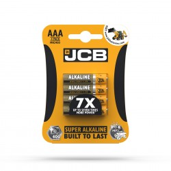 JCB SUPER ALKALINE BATTERY AАА/LR03 1.5V