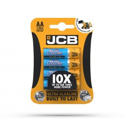 JCB ULTRA ALKALINE BATTERY AA/LR6 1,5V