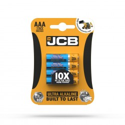 JCB ULTRA ALKALINE BATTERY AAA/LR03 1,5 V