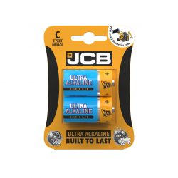 JCB ULTRA ALKALINE BATTERY C/LR14 1.5V