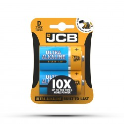 JCB ULTRA ALKALINE BATTERY D/LR20 1.5V